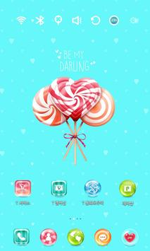 Sweet Candy Launcher Theme screenshot 1