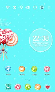 Sweet Candy Launcher Theme screenshot 2