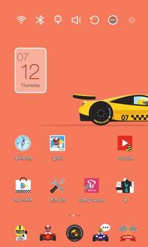 Speed Racing Car Theme poster