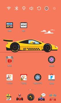 Speed Racing Car Theme apk screenshot