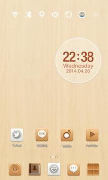 Wood Therapy Launcher Theme screenshot 2