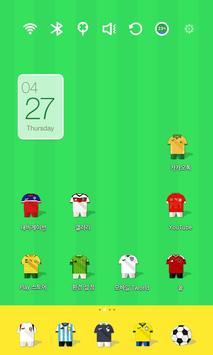 Soccer Stars Uniform Theme poster