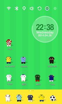 Soccer Stars Uniform Theme apk screenshot