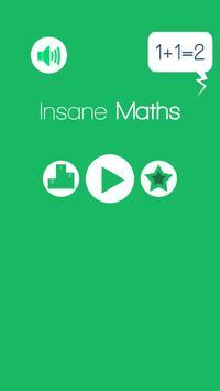 Insane Math Freak your mind poster