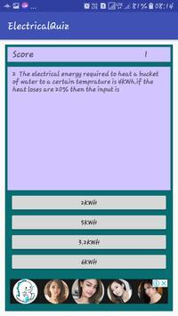 Electrical Quiz screenshot 4