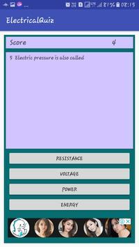 Electrical Quiz screenshot 2
