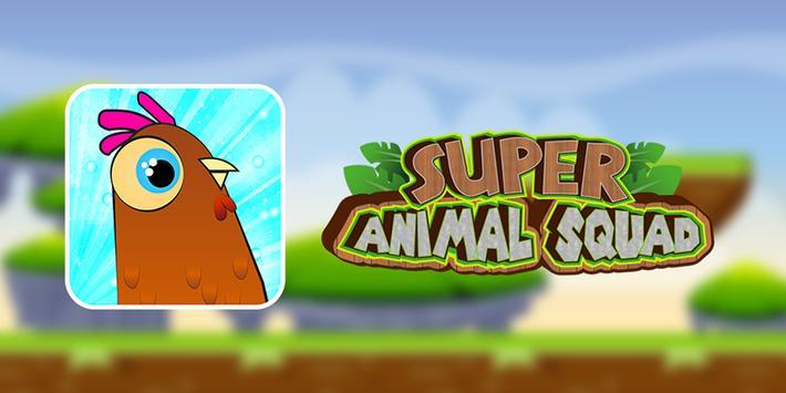 Super 🐔 Squad Animal poster