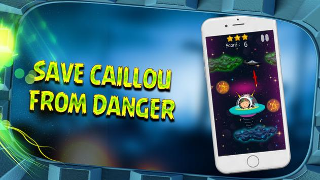 CAILLOW FLYING IN GALAXY screenshot 1