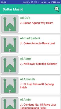 Info Jumat Bandar Lampung apk screenshot