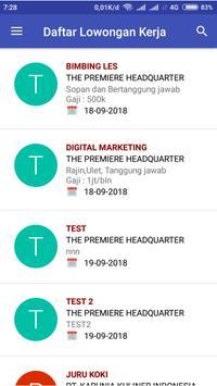 Bursa Kerja Khusus SMK YPKK 1 Sleman screenshot 3