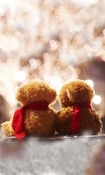 Valentine Bears live wallpaper screenshot 1