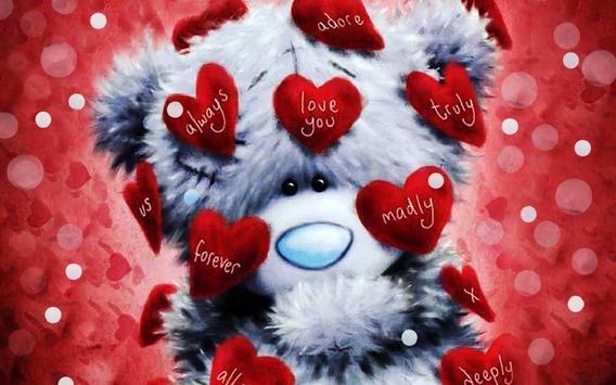 Valentine Bears live wallpaper screenshot 2