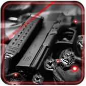 Weapon Gun 2016 live wallpaper icon