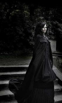 Gothic Black live wallpaper poster