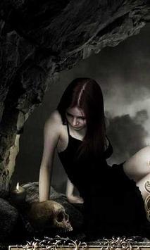 Gothic Black live wallpaper apk screenshot