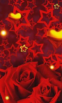 Rose Gold Hearts LWP apk screenshot