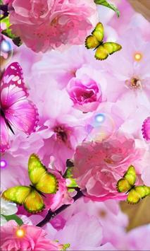 Summer Magic Flowers LWP poster