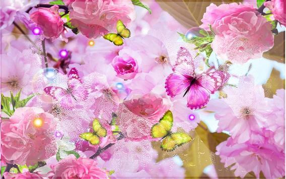 Summer Magic Flowers LWP apk screenshot