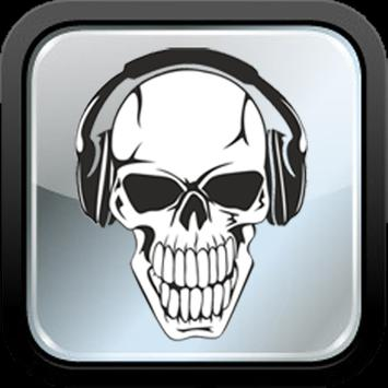MP3 Music Download Skull poster