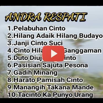 Lagu Andra Respati Video poster