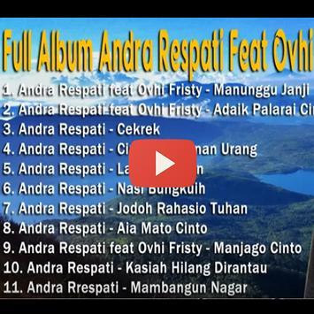 Lagu Andra Respati Video apk screenshot