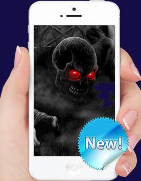 Dark Skull Wallpaper screenshot 1