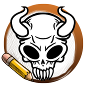 Learn To Draw Skull Tattoo icon