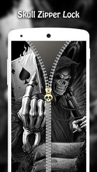 Skull Zipper Lock screenshot 14