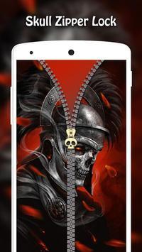 Skull Zipper Lock screenshot 13