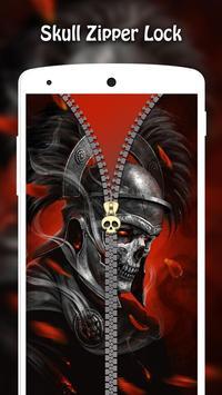 Skull Zipper Lock screenshot 3