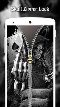 Skull Zipper Lock screenshot 4