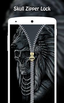 Skull Zipper Lock screenshot 5