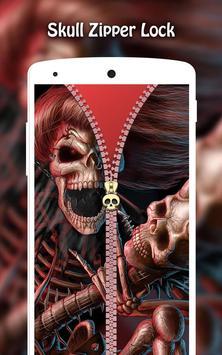 Skull Zipper Lock screenshot 6