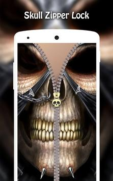 Skull Zipper Lock screenshot 7