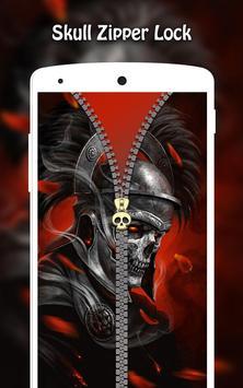 Skull Zipper Lock screenshot 8