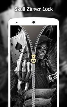 Skull Zipper Lock screenshot 9