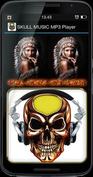 SKULL MUSIC MP3 Player poster