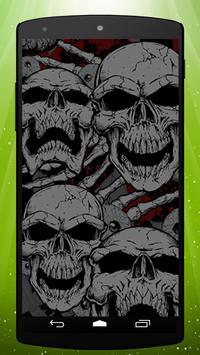 Skulls Live Wallpaper poster