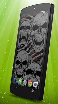 Skulls Live Wallpaper apk screenshot