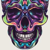skulls live wallpaper icon