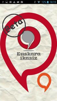 Euskara ikasiz 2.maila (beta) Poster