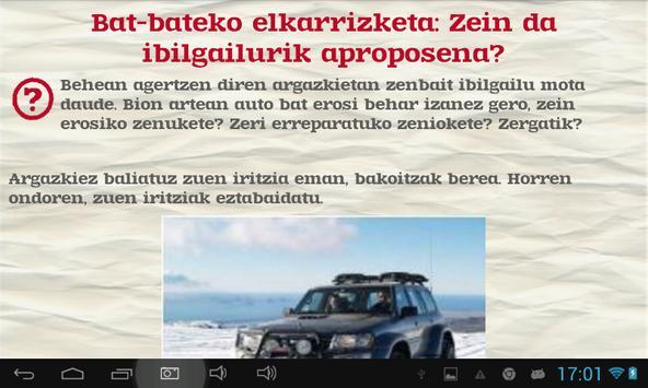 Euskara ikasiz 2.maila (beta) captura de pantalla 10