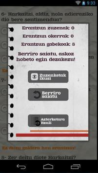 Euskara ikasiz 2.maila (beta) captura de pantalla 6