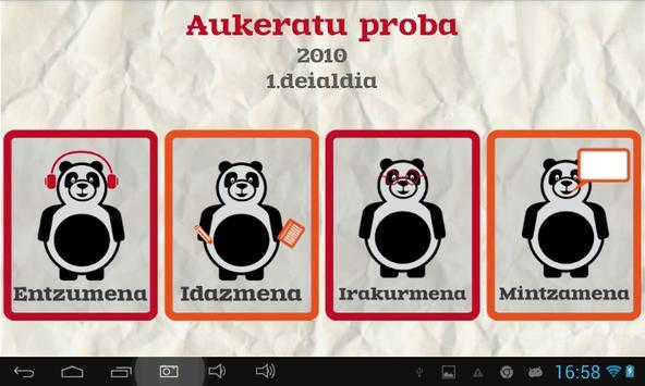 Euskara ikasiz 2.maila (beta) captura de pantalla 9