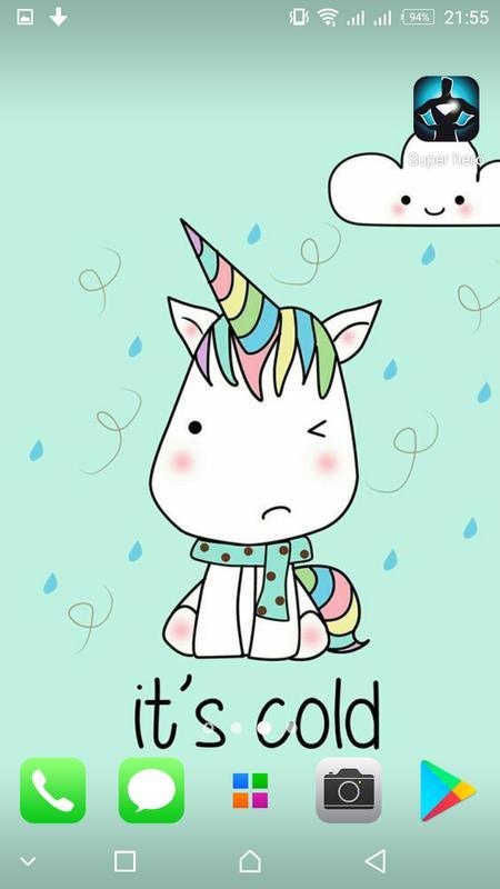 Kawaii Unicorn Wallpapers Cute Background Screenshot 7