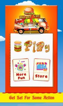 Sky Burger Maker poster