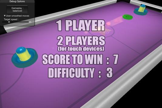 Air Hockey Tap apk screenshot
