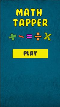 Math Tapper – Quiz Solving Operations Game 🔢 poster