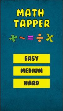 Math Tapper – Quiz Solving Operations Game 🔢 apk screenshot