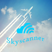 Guide for Skyscanner all flights, cars and hotels icon